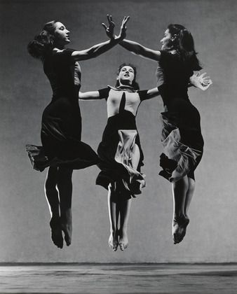 Martha Graham, Celebration (Trio) / Barbara Morgan (American, 1900–1992) / 1937 / Gelatin silver print