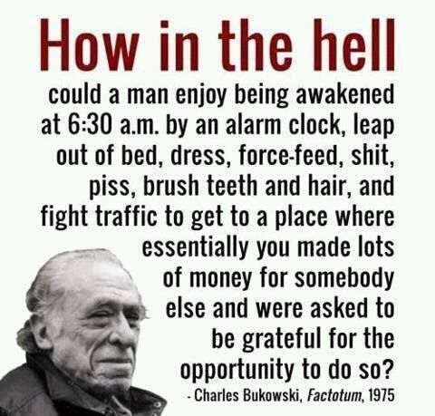 """I hate it when people say I should be grateful to have my job...I'm grateful that I can afford living essentials, but none of us should feel """"grateful"""" to be wage slaves."""