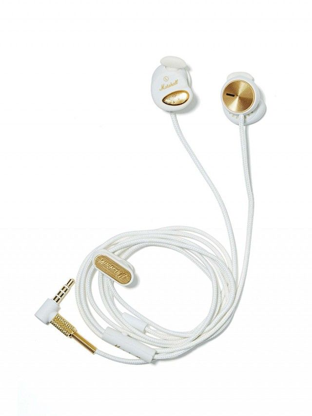 Minor... but gorgeous ear buds by Marshall