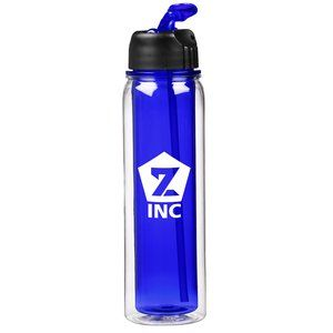 Make your logo the talk of the gym on this sporty bottle!