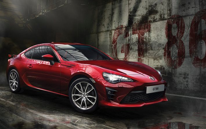 Toyota GT86, 2017 cars, sportcars, coupe, Toyota