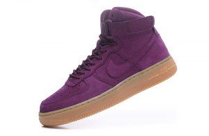 Womens Nike Air Force 1 High WB Bordeaux Gum Light Brown Black Bordeaux  922066 600 Running Shoes c6530e13c