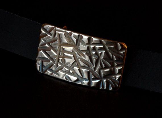 Silver SK8TER Belt Buckle Hypoallergenic Hand by ironartcanada, $74.00 https://www.etsy.com/ca/shop/ironartcanada