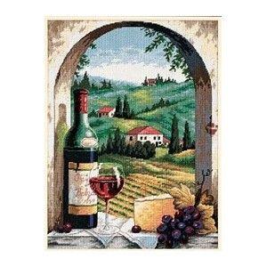 """Dimensions """"Вино"""" 20054 наборы для вышивания  интернет-магазин Salfetka-shop.ru"""