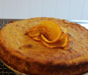 Orange and Almond Cake - GF
