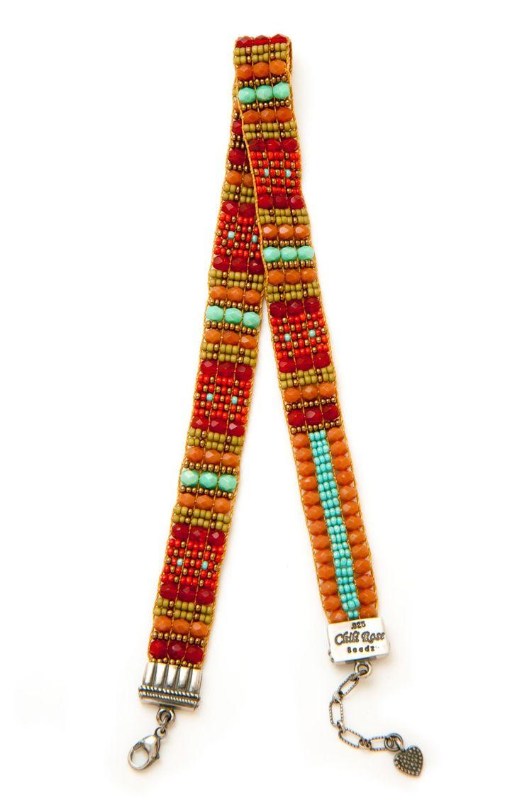Signature Chili Wrap Bracelet - Bracelets - Jewelry | Peyote Bird Designs