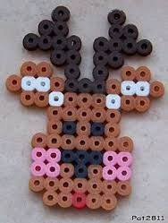 perler bead christmas ornaments - Google Search