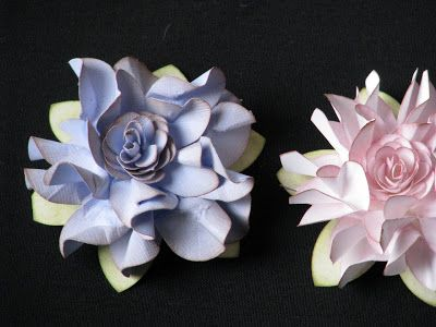 SIMPLY PAPER: Elegant ruffled flower tutorial