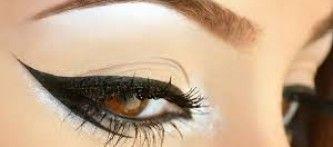 Kanatlı Eyeliner Yapılışı