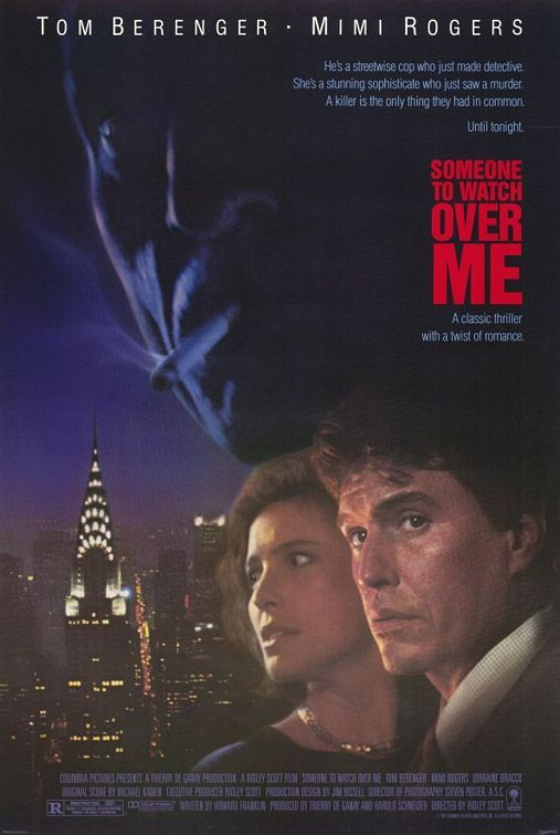 Very stylish thriller starring Tom Berenger and Mimi Rogers. I love all things Ridley Scott anyway.