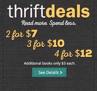 Cheap used books are available with free shipping within the USA on orders over $10 at Thriftbooks. Millions to choose from for the cheapest prices you will find on the web.