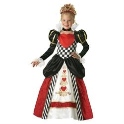 Queen Of Hearts Fancy Dress Costume For Kids
