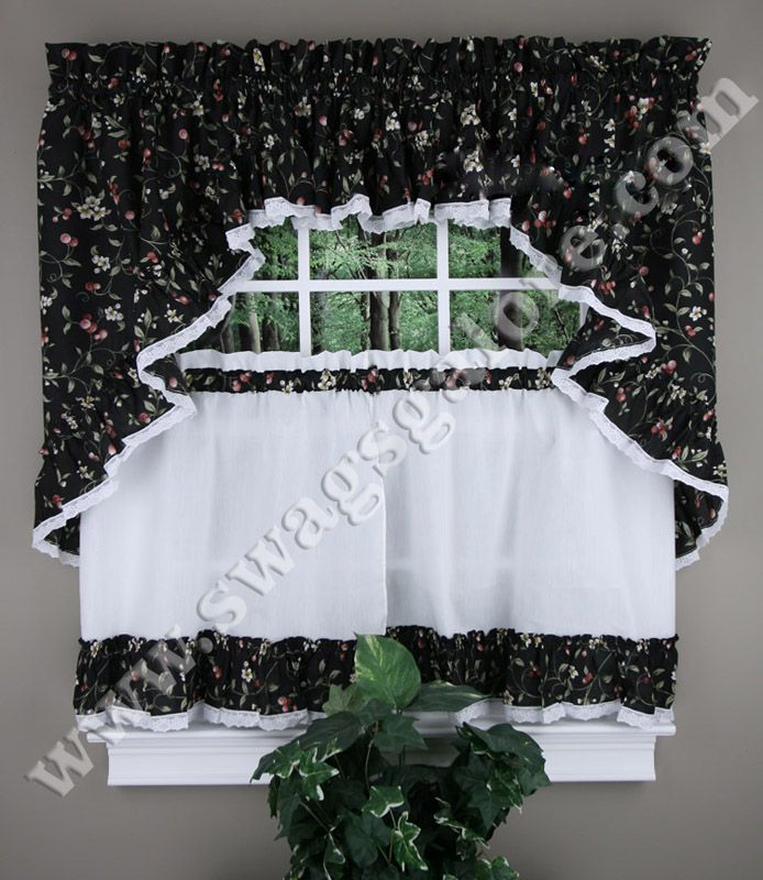 Find This Pin And More On Cafe Tier Curtains By Swagsgalore.