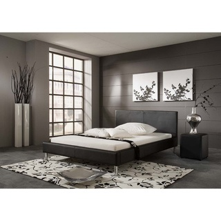 overstock this refined monte contemporary platform bed frame from matisse features a - Modern Bed Frames Queen