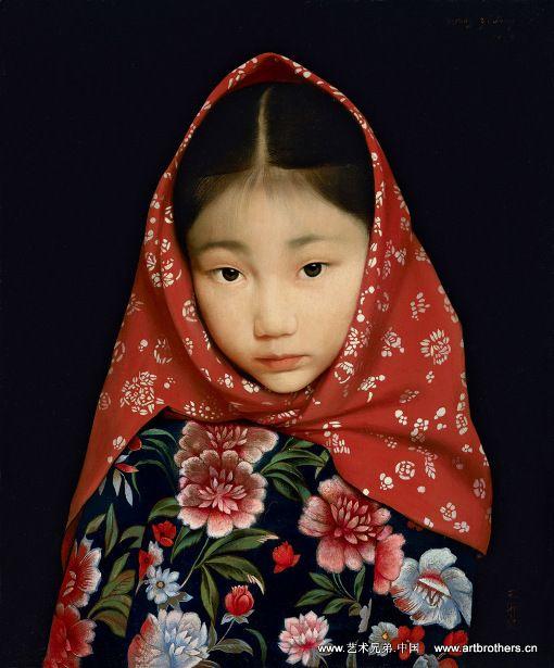 Wang Yidong (1955, Chinese) Beautiful Photograph