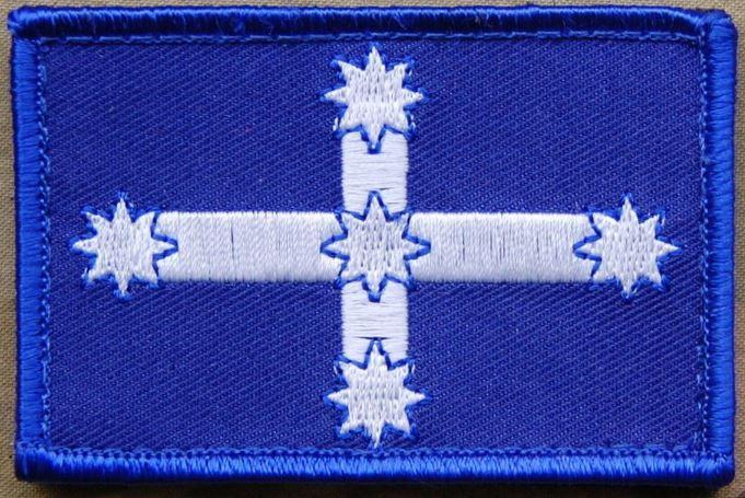 Eureka Flag Patch Australia Victoria SASR SOTG Commando Task Force 66 Tarin Kowt