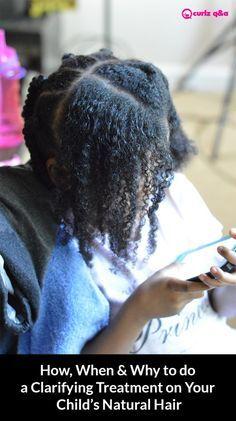 clarifying hair treatment for children