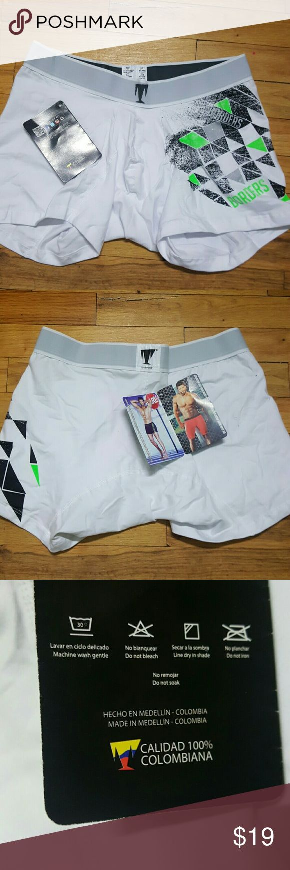 MADE IN COLOMBIAN MEN UNDERWEAR BOXERS MADE IN COLOMBIAN MEN UNDERWEAR BOXERS  FAMOUS FOR THEIR GREAT QUALITY  IN UNDERWEAR.  THIS QUALITY WILL LAST IN GREAT CONDITIONS FOR 4 TO 5 YEARS .. Underwear & Socks Boxers