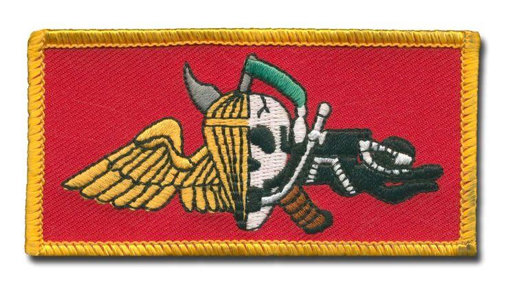 Marine Recon Wings-Skull Patch USMC
