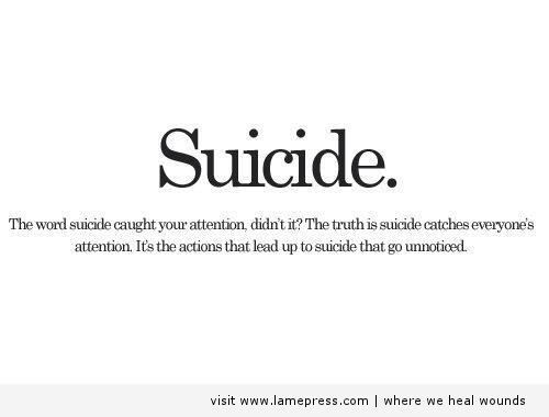 Suicide Quotes 217 Best Suicide Awareness Images On Pinterest  Depressing Quotes .
