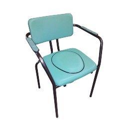 Silla con inodoro New Club azul #baño #wc #adaptado #discapacitado #minusvalido #disabled #bath #bathroom #toilet #shower #higiene #inodoro