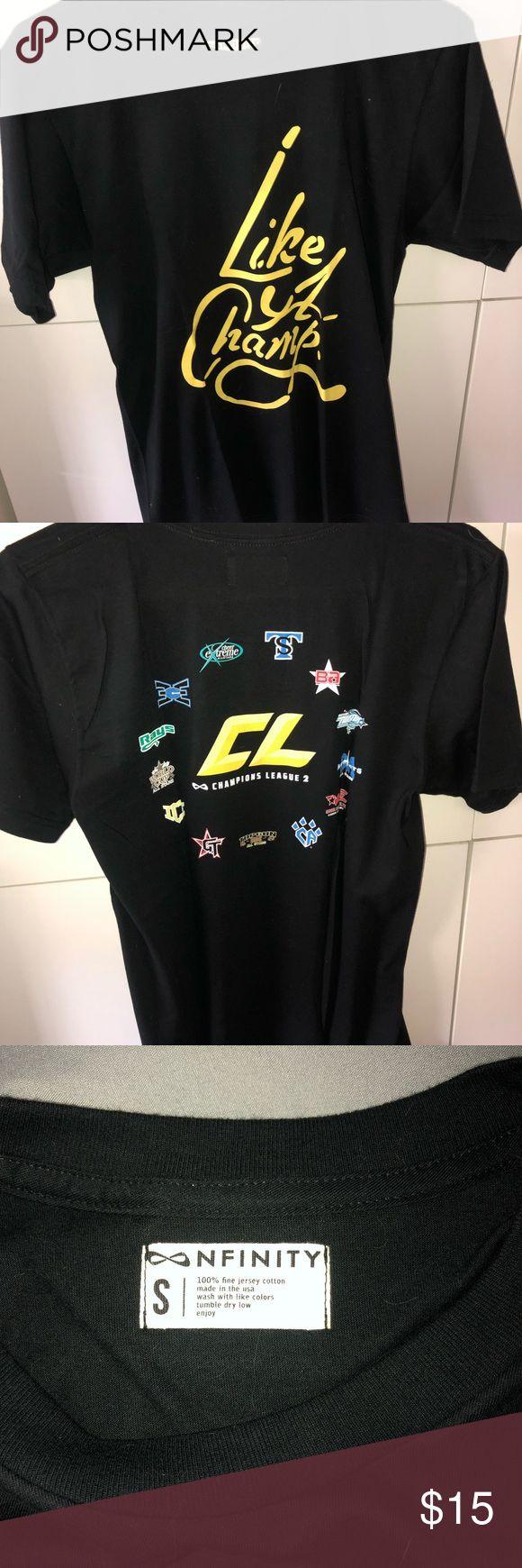 Nfinity Champions League LA T-shirt • exclusive nfinity t-shirt from champions…