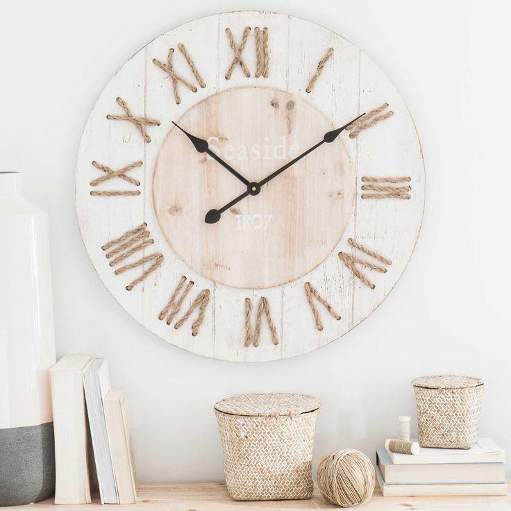 17 meilleures id es propos de maison du monde horloge sur pinterest horloge du monde - Horloge a poser maison du monde ...