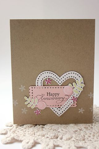Best Anniversary Cards Images On   Homemade Cards