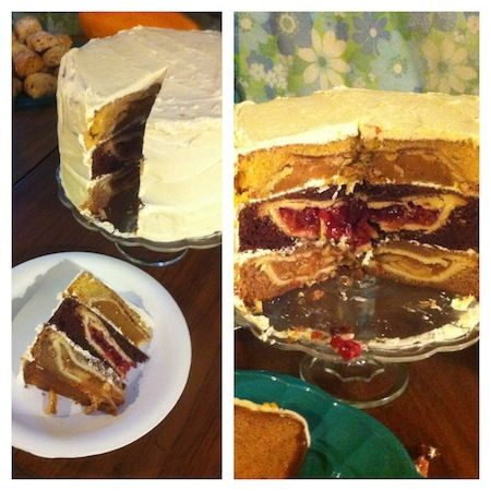 The Cherpumple Is An Amazing Cake Which Consists Of Three Layers This Recipe Was Inspired