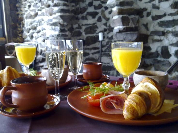 Breakfast at Holiday Resort Järvisydän, Finland