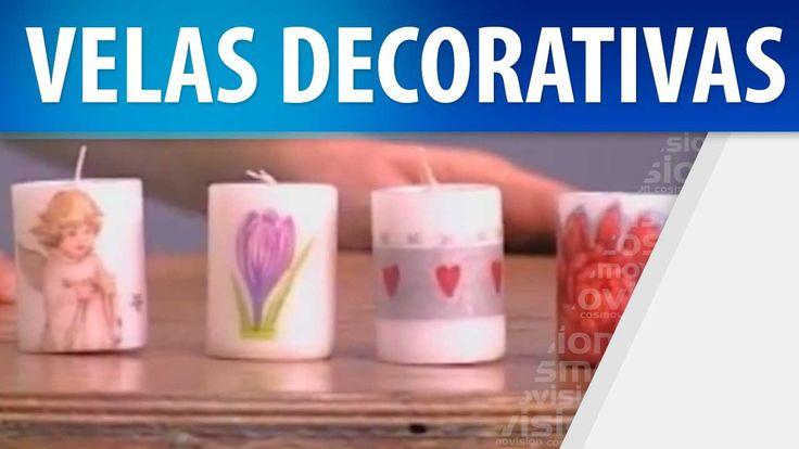 17 best images about decorar velas on pinterest facebook for Como hacer velas decorativas