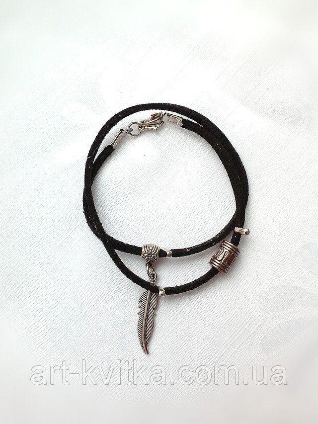 Замшевый браслет на руку, #кожаный браслет, женский кожаный браслет, стильный браслет, дизайнерский браслет, #leather bracelet, #handmade bracelet, women bracelet