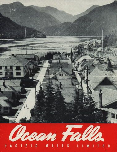 Ocean Falls, BC in the 1930s