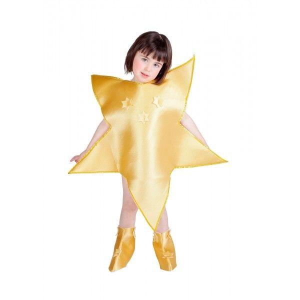 disfraz estrella de navidad nia