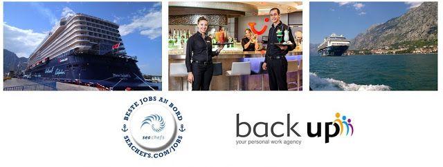 Jobs auf Kreuzfahrtschiffen: Interviews für Jobs an Bord von TUI Cruises - 26.1...