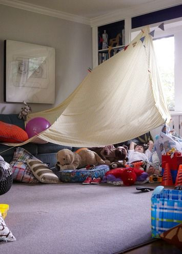 96 Best Diy Pillow Amp Blanket Forts Images On Pinterest