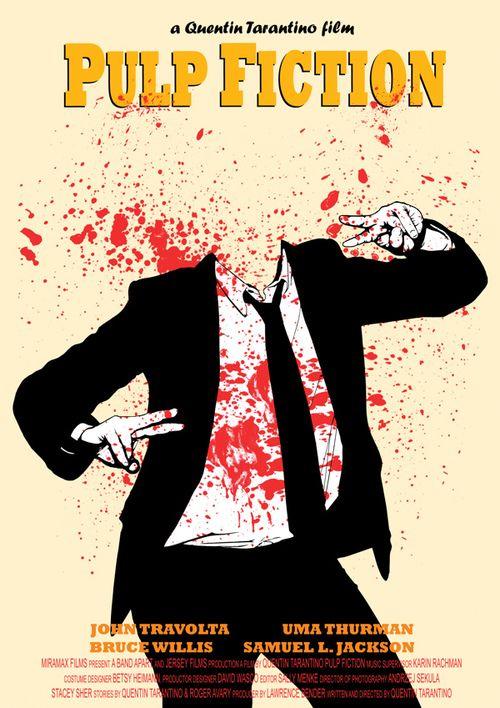 Pulp Fiction - byDanna Podstudensek  Artist: Behance|| Flickr|| Facebook
