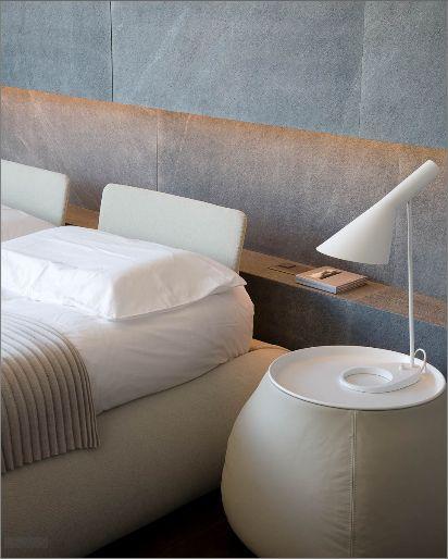 :: BEDROOMS :: INTERIORS :: Love this simple interior niche detail   Photo Credit: Giorgio Possenti   #interiors #bedrooms