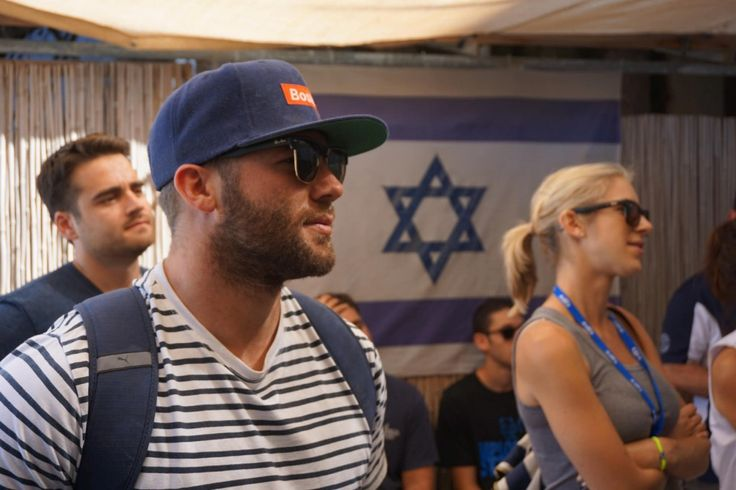 Yalla! Exploring Israel with the Patriots' Julian Edelman | Nicki too Combined Jewish Philanthropies of Greater Boston