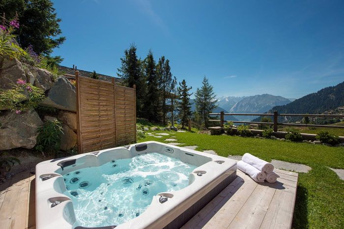 Eco-friendly chalet in Verbier with outdoor jacuzzi