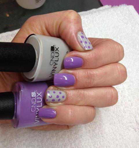 CND Vinylux: City Scape  Lilac Longing
