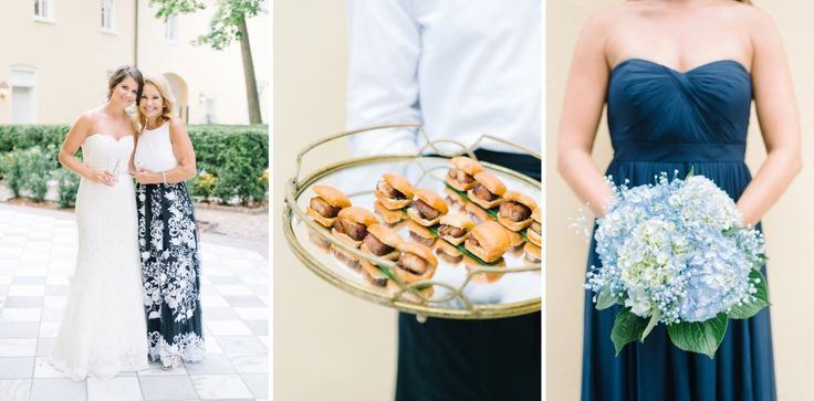 Cuisine by PPHG | The William Aiken House | Summer Wedding in Charleston, SC | Photo by Aaron and Jillian
