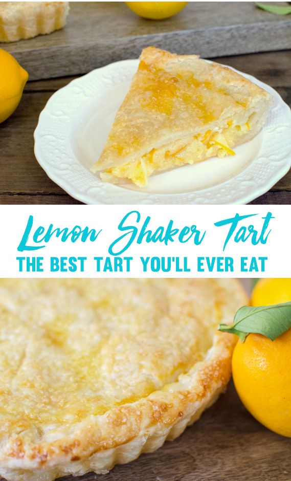 Tartine Bakery Lemon Shaker Tart Recipe - The best tart or pie you'll ever eat!
