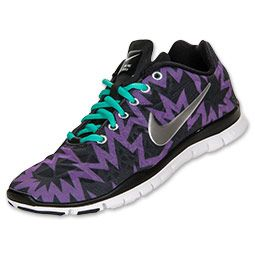 Women's Nike Free TR Print 3 Cross Training Shoes  Atomic Purple