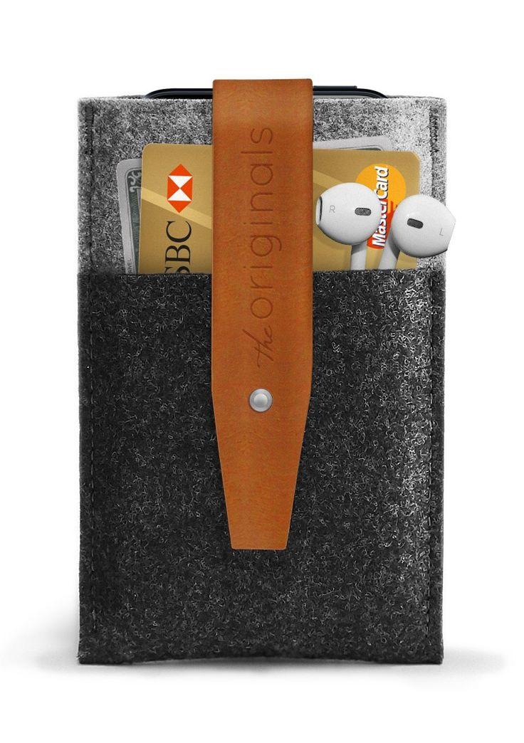 iPhone 5 Wallet Brown