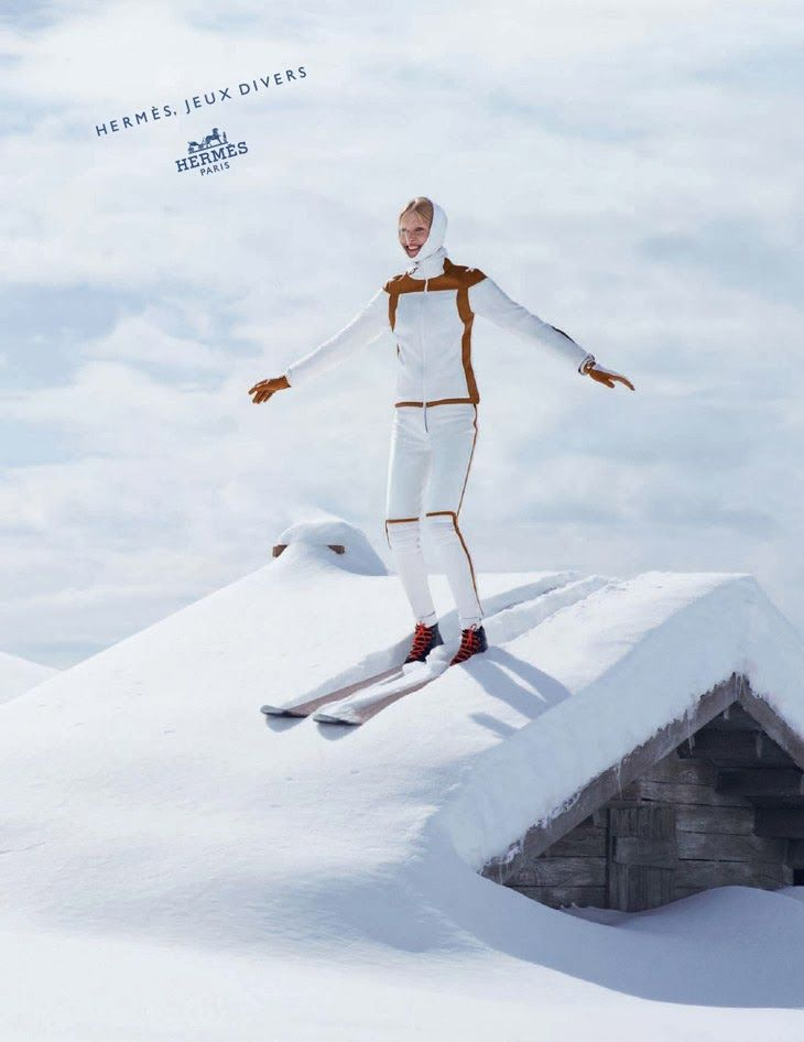 Hermes Winter Ski Collection 2013/14