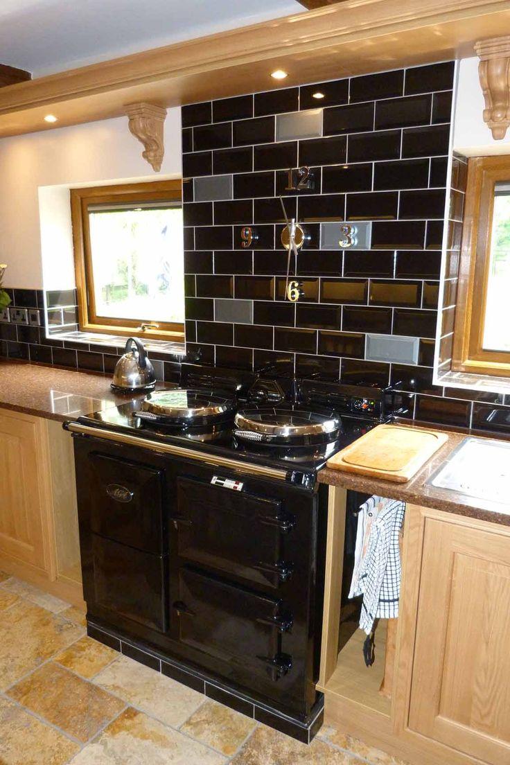 black back splash – home design inspiration