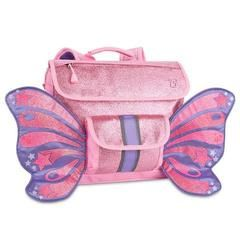 £25.00 Bixbee Sparkalicious Pink Butterflyer / Fairyflyer Backpack. Children can pack their precious horde, don their glittery backpack wings and fly away with sparkle and shine, taking their belongings with them. Perfect for early years school bag too!