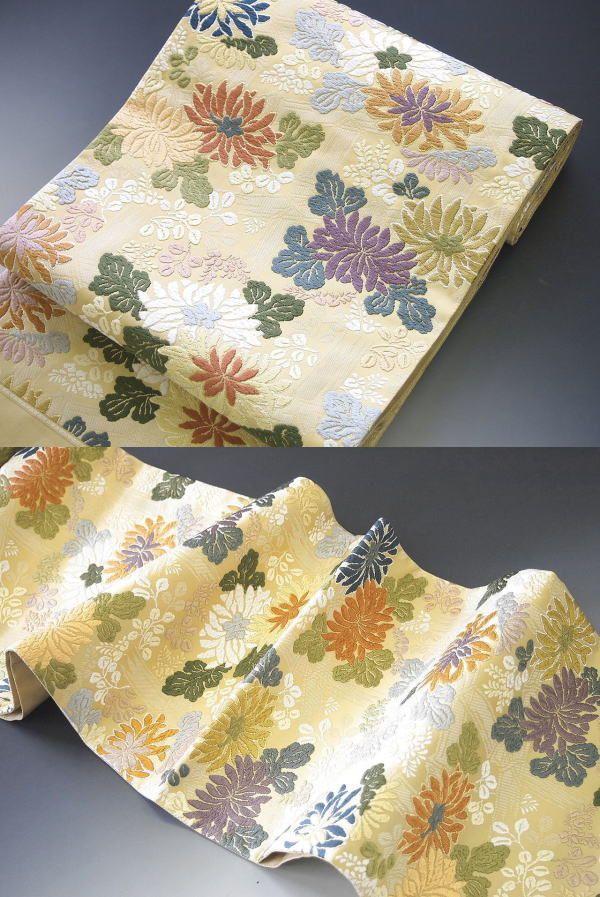 西陣織 袋帯 いづくら 謹製 唐織 秘蔵小袖