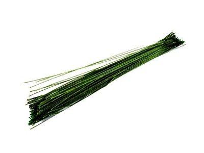 DRUT FLORYSTYCZNY prosty drucik 100szt 40cm zielon
